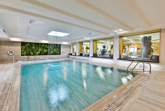 indoor pool - gym