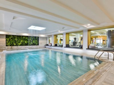 indoor pool - gym